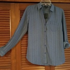 NWT The Limited  button-up blouse